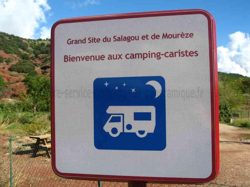 34 - celles - photos - aires service - camping-car