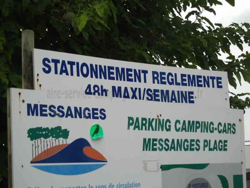 40 messanges photos aires service camping car stationnement pour camping car visites - Office de tourisme messanges ...