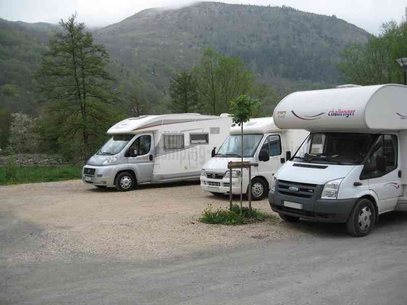 Parking Camping Car Loudenvielle
