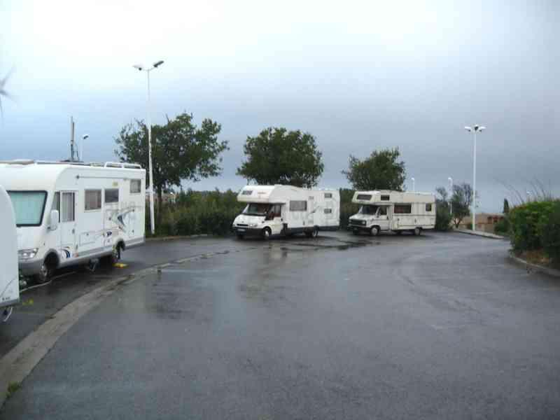 Aire De Stationnement Camping Car Collioure