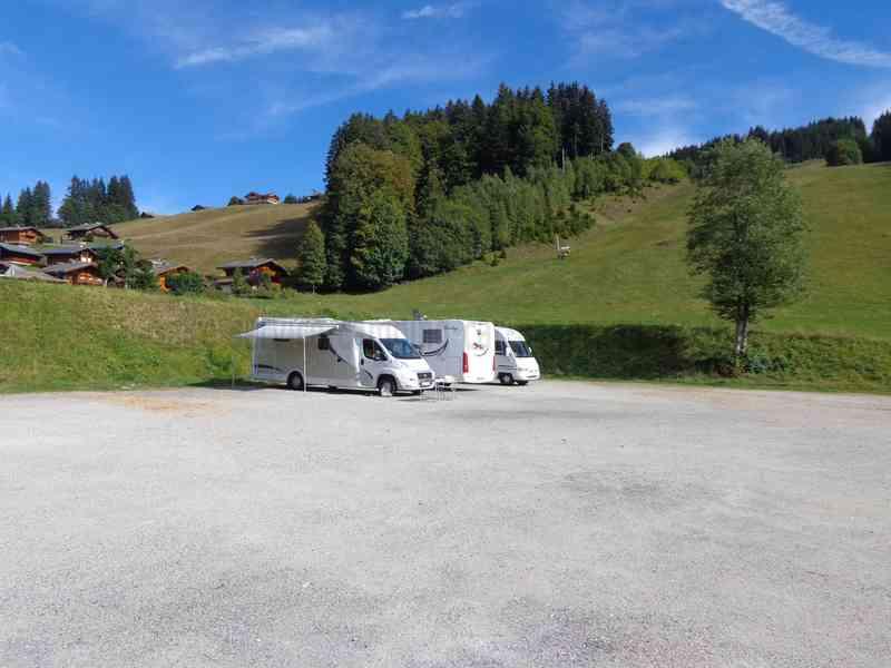 74 - les gets - photos - aires service - camping-car