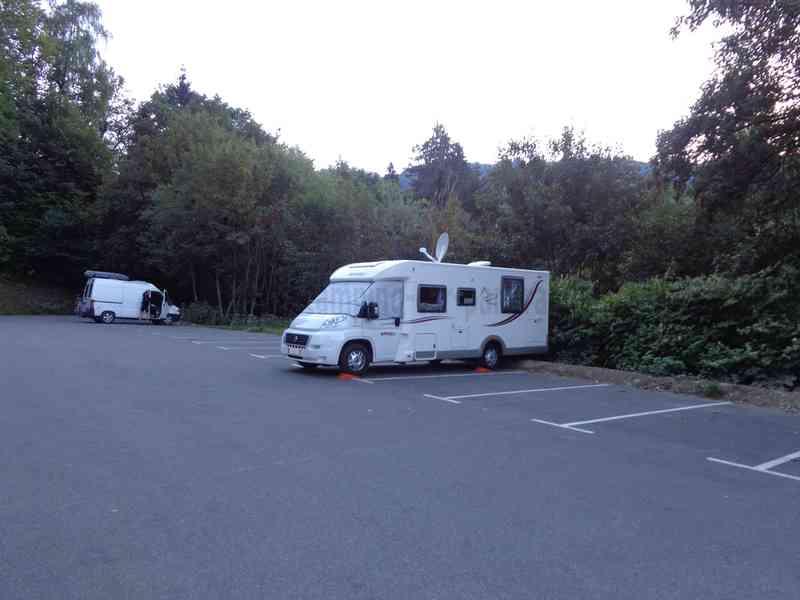 Visite payante du camping car