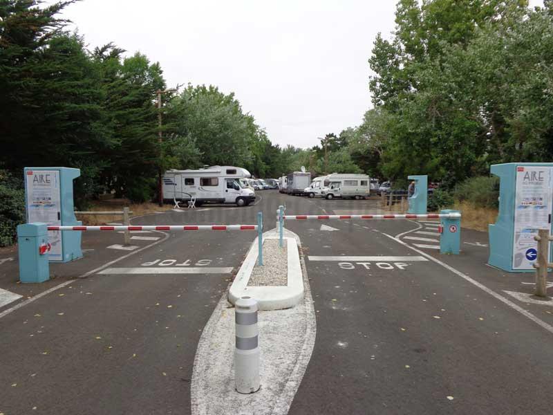 Aire De Camping Car Sur Saint Jean Monts Gratuit