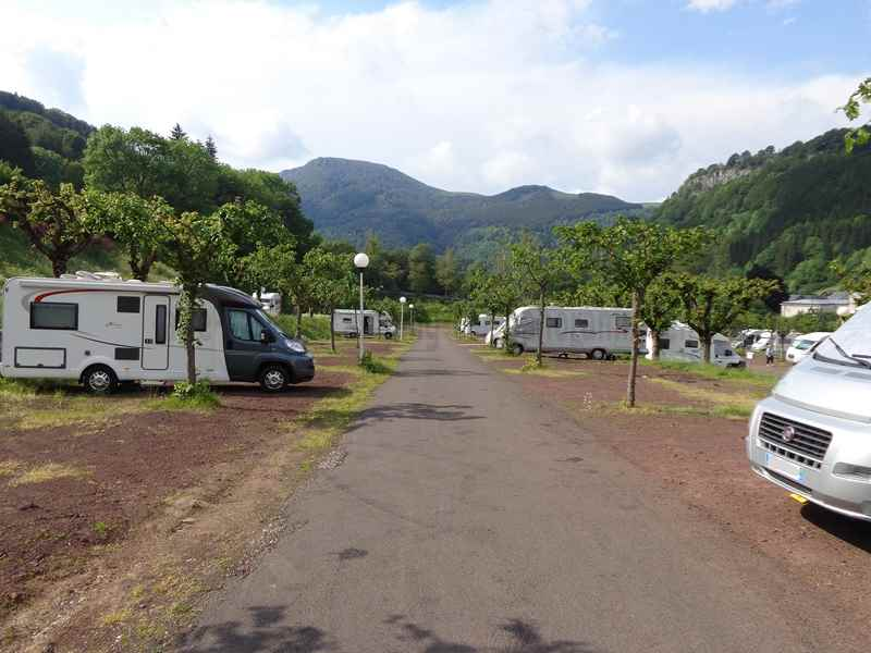 Aire Service Camping Car Panoramique Mobile